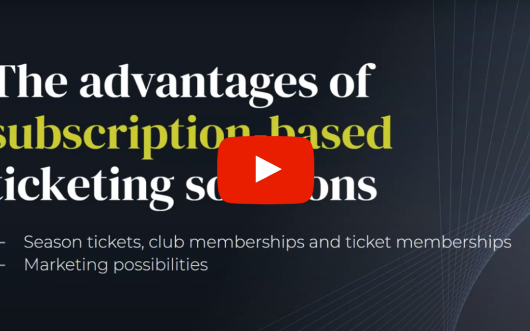 Blog: Presentation video – Subscriptions will change the commercial world of football