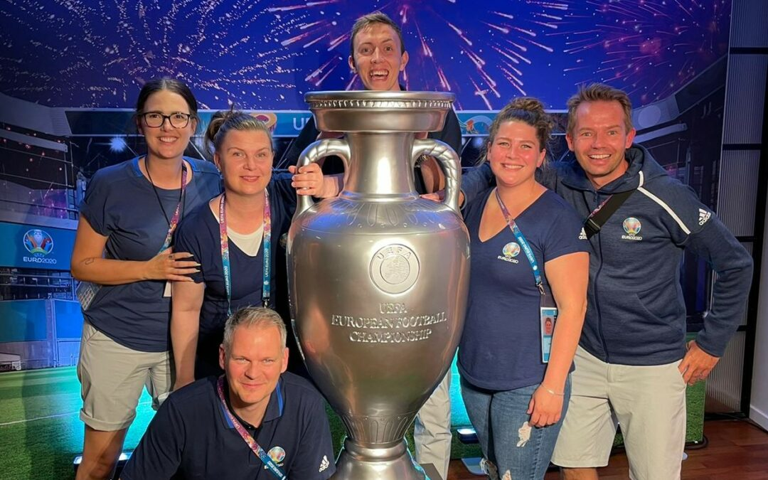 NewC employees handpicked to help at EURO 2020